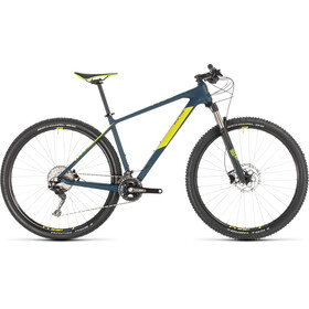 Cube Reaction C:62 MTB Hardtail blå
